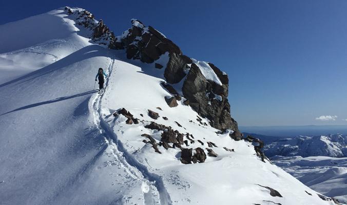 Taran explores terrain in the Pirigallo Valley, Las Trancas. [Photo] Courtesy Alex Taran