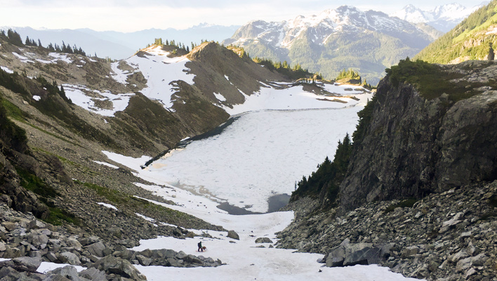 Summer Stashes: Photographer Abby Cooper explores the fading snow of Whistler