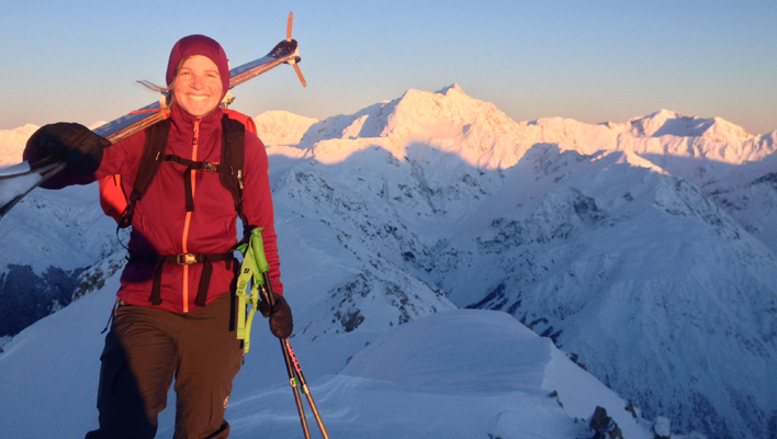 Austral Aspirations: Allie Rood talks ski mountaineering and life abroad in New Zealand