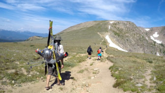 Summer Stashes: Celebrating friendship with summer turns at Colorado's Rollins Pass