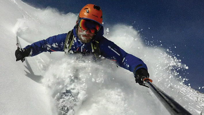 Southern Storm: Aaron Rice skis Argentinian powder on his way to 2.5 million vertical feet in 2016