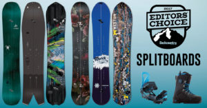 2017 Backcountry Editors Choice Splitboards