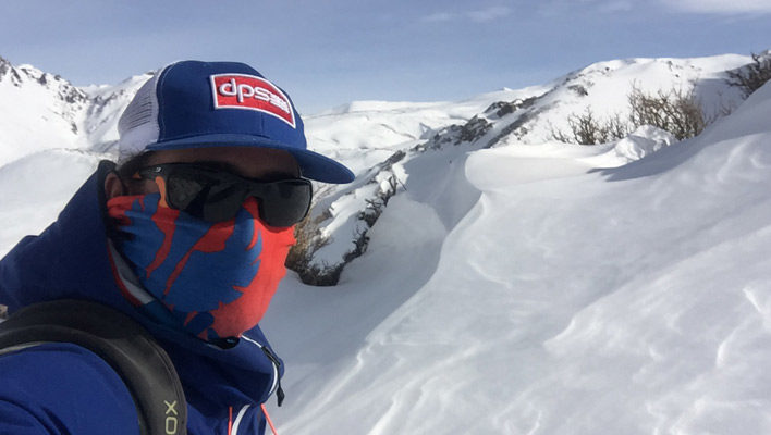 Skintrack Sickness: Aaron Rice wades through the cold