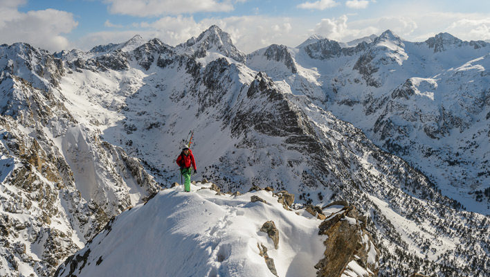 Picture Perfect Pyrenees: Photographer Fredrik Marmsater talks about his ski trip to Spain