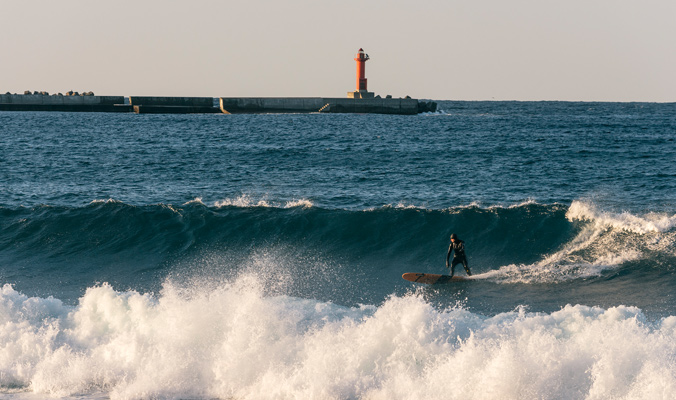 The Way East: Ski and surf on the Sea of Japan