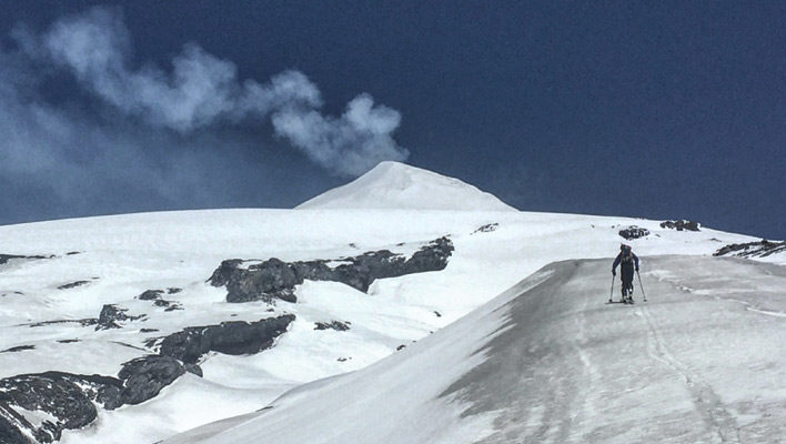 Vans and Volcanoes: Road-tripping and logging vert through Chile