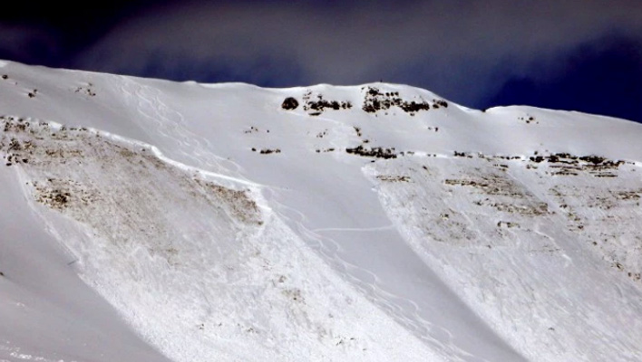 Picture of a side in Red Lady bowl outside of Crested BUtte, Colo. [PHoto] Courtesy Crested Butte Avalanche Center