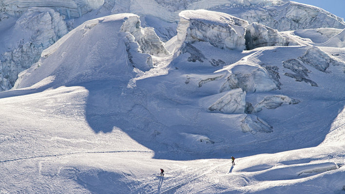 Far Out: Skiing Ice Spikes in the Bolivian Andes