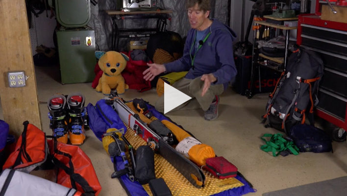 Ski Mountaineering Skills with Andrew McLean: Expedition Packing Part 1