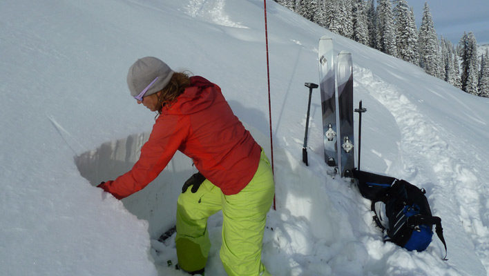 Mountain Skills: Digging doesn't need to be the pits