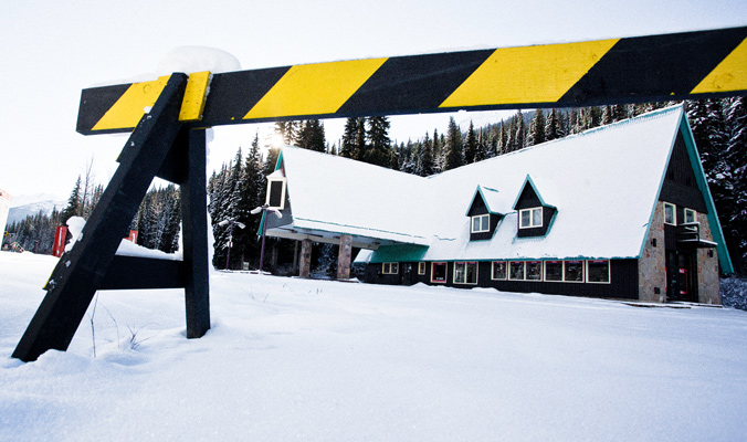 Glacier Park gas bar leaves visitors of Rogers Pass wanting more. [Photo] Rob Buchanan