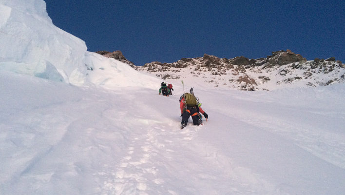 Just Walk Away: Caroline Gleich's summit bid on New Zealand's Mount Dixon and Mount Cook