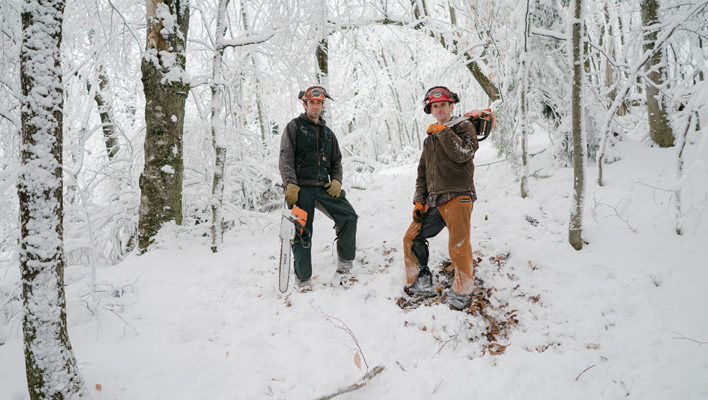 Reggae Turns: How two Vermont skiers are reshaping backcountry terrain throughout the stat