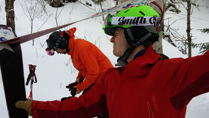 Heady Decisions: Should you wear a helmet in the backcountry?