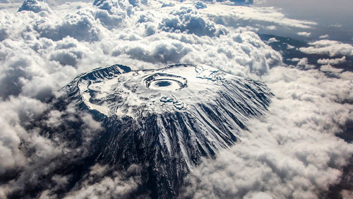 The Seventh Sojourn: It's impermissible to ski on Kilimanjaro. Will it soon be impossible?