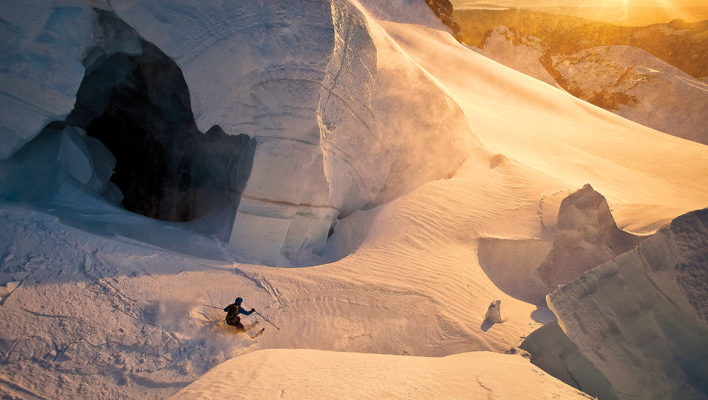 Jason Hummel captures Mt. Baker's Golden Hour