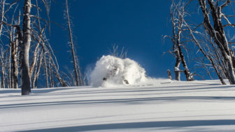 Jeff Cricco takes perfect pow shot, everyone quits to go skiing