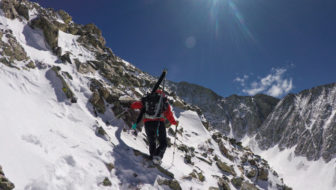 Laura Hadar Strives for Female Splitboard 14er Record