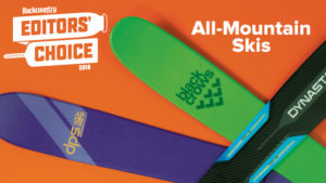 2018 Backcountry Editors Choice All Mountain Skis