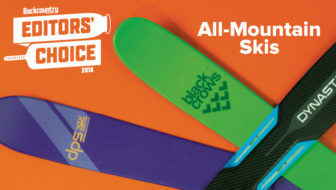 2018 Editors' Choice Awards: All-Mountain Skis