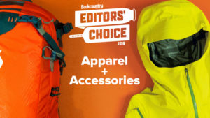 2018 Backcountry Editors Choice Apparel and Accessories