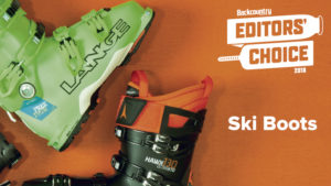 2018 Backcountry Editors Choice Ski Boots