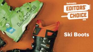 2018 Backcountry Editors Choice Ski Boots