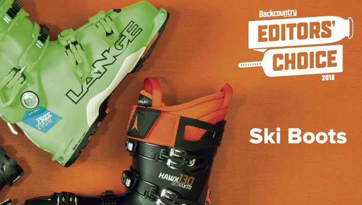 2018 Backcountry Editors' Choice Ski Boots