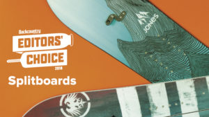 2018 Backcountry Editors Choice Splitboards