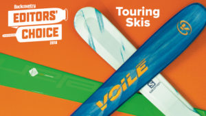 2018 Backcountry Editors Choice Touring Skis