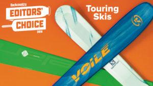 2018 Backcountry Editors Choice Touring Skis