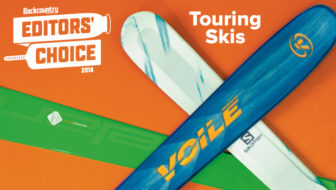 2018 Editors' Choice Awards: Touring Skis