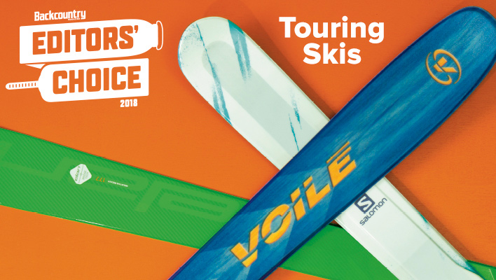 2018 Backcountry Editors' Choice Touring Skis