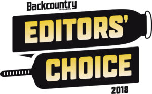 Backcountry Editors' Choice 2018