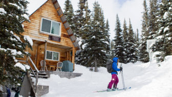 At Hudson Bay Mountain, off-the-grid cabins offer a fast track to the Smithers Backcountry
