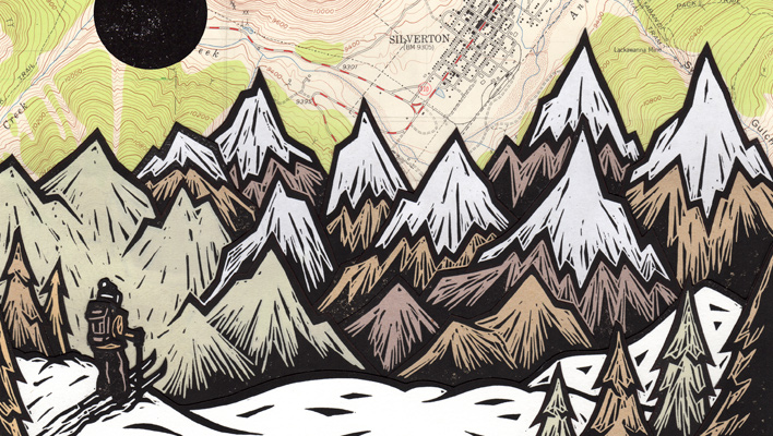 Skintrack Sketches: John Fellows carves a place for his recreation-inspired artwork