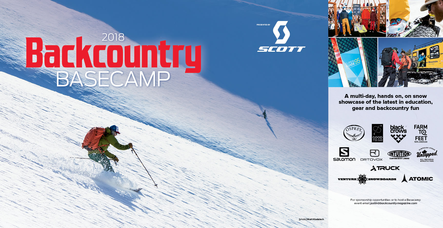 2018 Backcountry Basecamp Presented by Scott