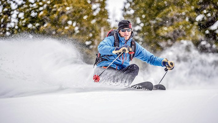 The Snow Pro: Steve Banks engages friends and clients in terrain conversations