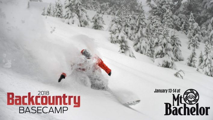 Backcountry Basecamp 2018 – January 13 and 14 at Mt. Bachelor, Oregon