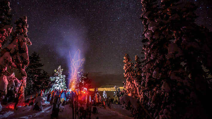 Alpenglow's Golden Hour: A Tahoe-based ski shop's annual mountain festival