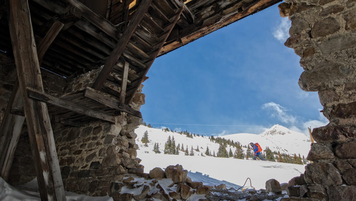 Mining for Turns: A planned hut system outside Breckenridge, Colo. aims to offer access to a little known range
