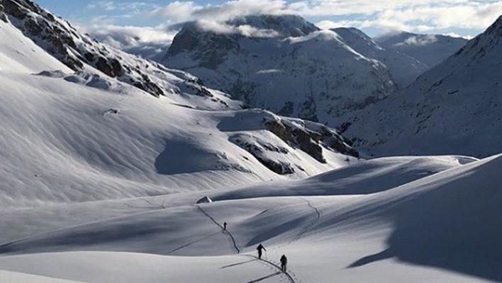 Der Lange Weg: How seven ski mountaineers race 2,000 kilometers through the Alps