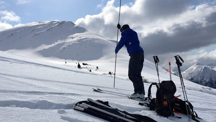 Probing for data: How a new backcountry citizen science effort is growing the snow-depth database