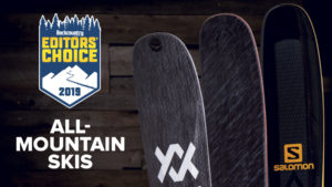 2019 Backcountry Editors Choice All Mountain Skis