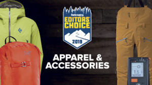 2019 Backcountry Editors Choice Apparel and Accessories