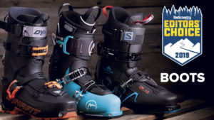 2019 Backcountry Editors Choice Ski Boots