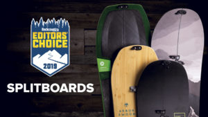 2019 Backcountry Editors Choice Splitboards