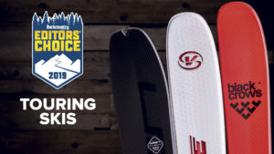 2019 Backcountry Editors Choice Touring Skis