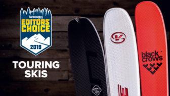 2019 Editors' Choice Awards: Touring Skis
