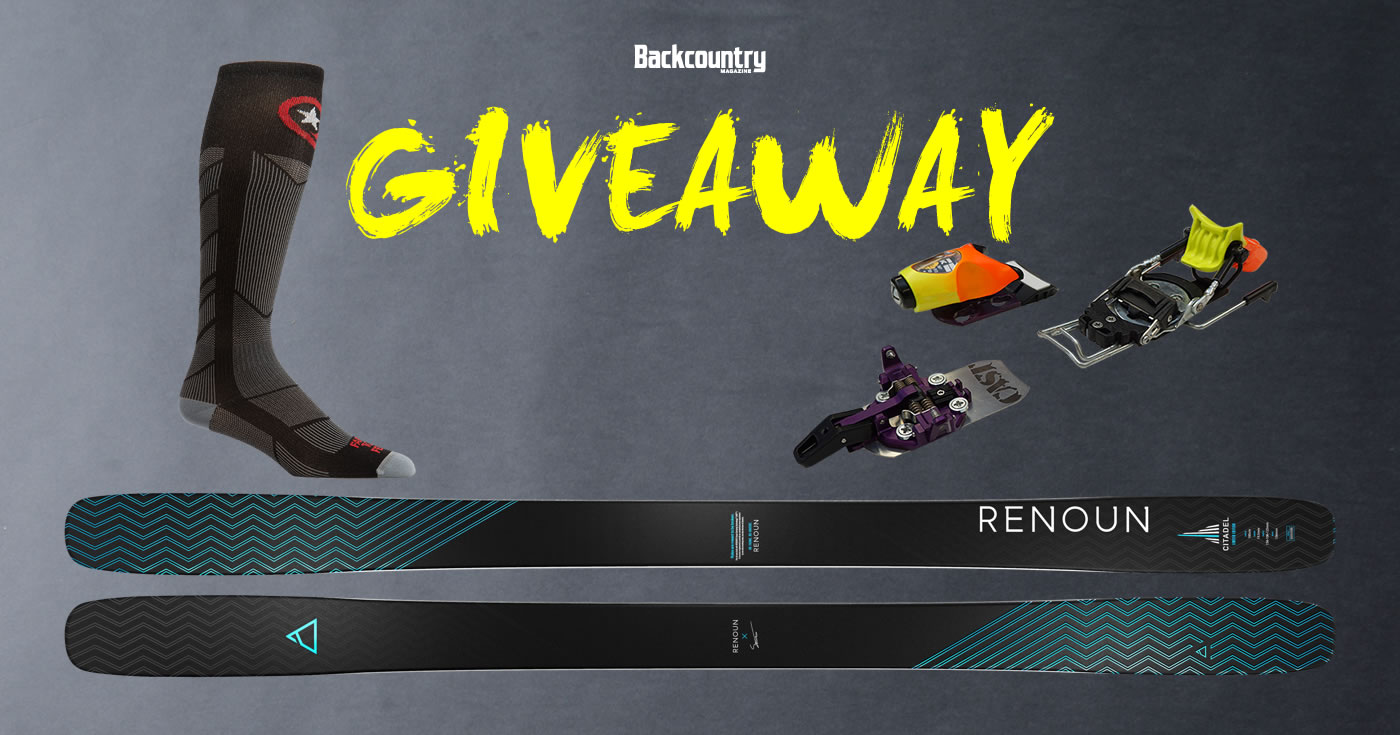 Backcountry Giveaway - Backcountry Magazine